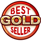 Medal Best Gold Seller on DriveThruRPG.