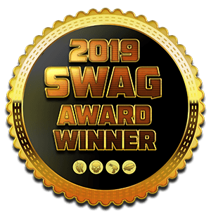 Medal for 2019 SWAG Award Winner