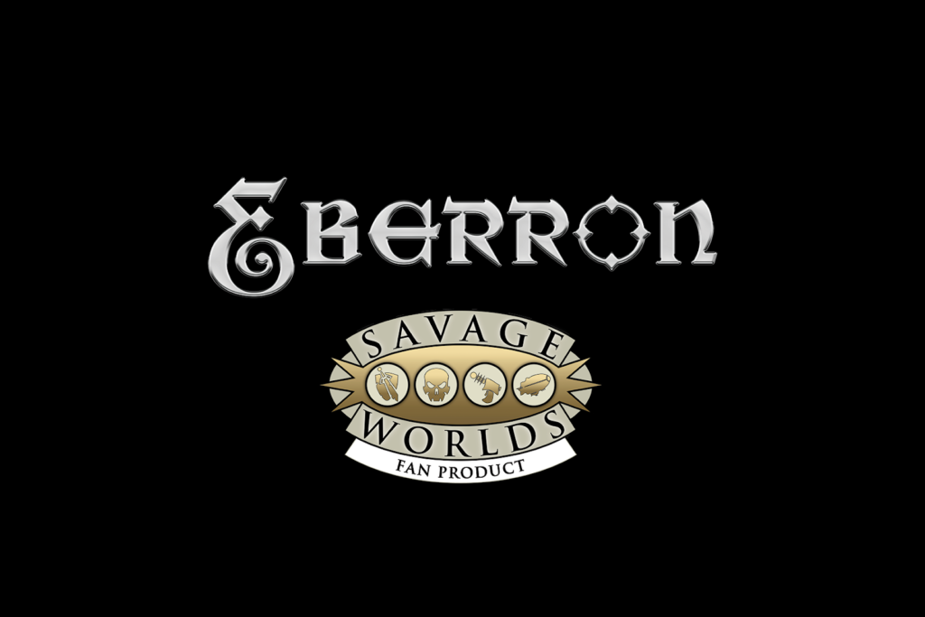 Logo for Eberron for Savage Worlds