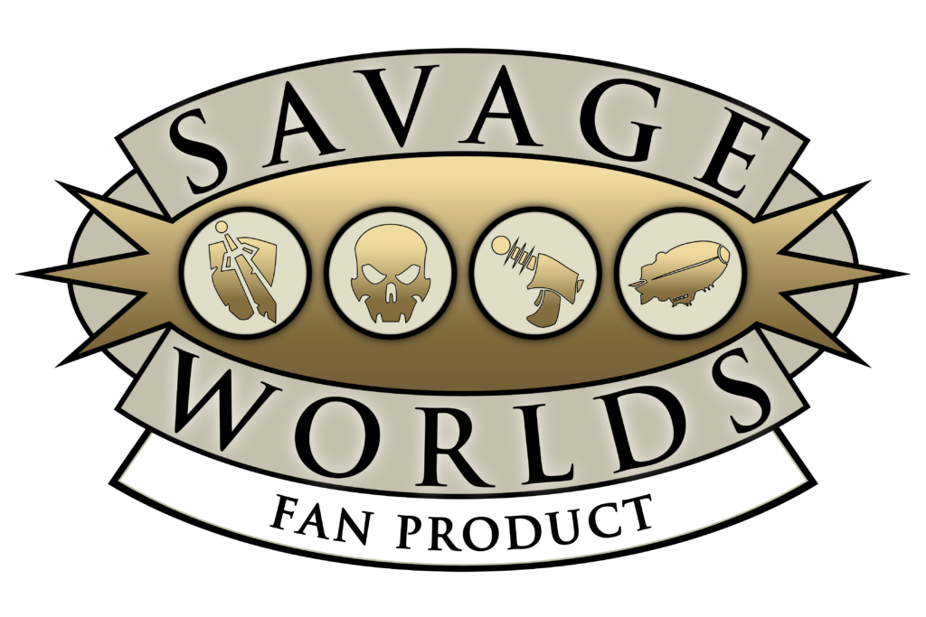 Logo for Savage Worlds Fan License